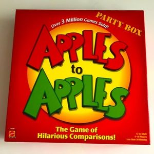 Mattel Classic Apples to Apples Game Party Box